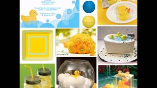 DIY Rubber Ducky Baby Shower Decorating Ideas