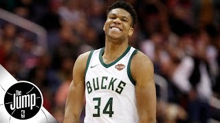 Bucks GM: Giannis will have 3-point shot soon, and rest of NBA is 'pretty scared' | The Jump