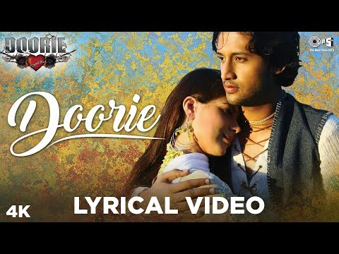 Download Doorie Lyrical Video - Doorie | Atif Aslam | Featuring Urvashi Sharrma | Bollywood Songs HD Mp4 3GP Video and MP3