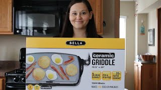 Pancakes Recipe from Scratch and the Bella Ceramic Griddle