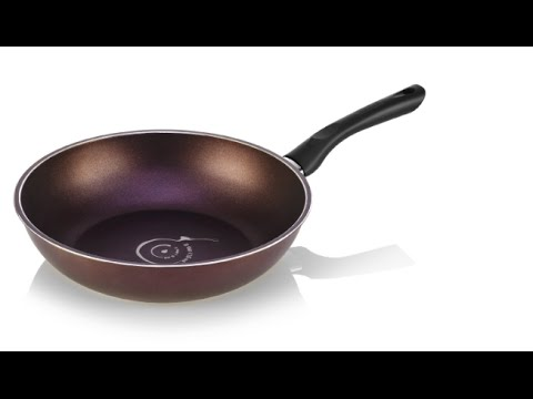 "TeChef - Art Pan 12"" Wok / Stir-Fry Pan, Coated 5 times with Teflon Select Non-Stick Coating"