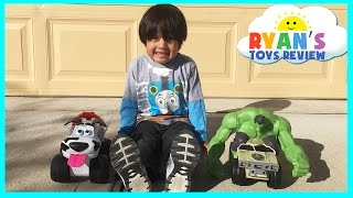 Street Dogs Bumper Remote Control Toy Cars Hulk Smash Vehicle Ryan ToysReview