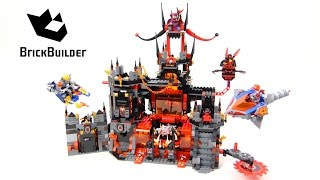 Lego Nexo Knights 70323 Jestro's Volcano Lair - Lego Speed build