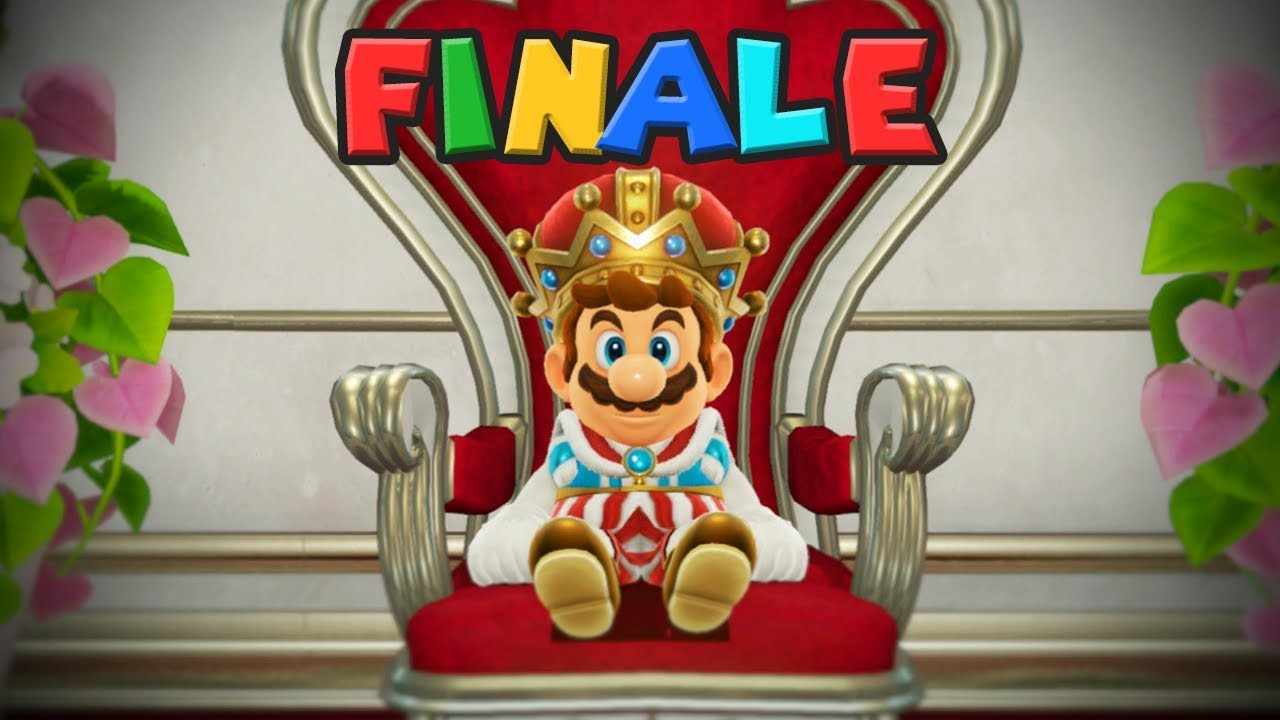 THE NEW KING - Live Plays - Super Mario Odyssey - 3 - Ending