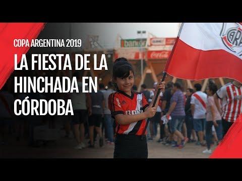 """""""La fiesta de la hinchada en Córdoba - Copa Argentina 2019"""" Barra: Los Borrachos del Tablón • Club: River Plate"""