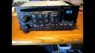 Chevrolet Radio Light Bulb Replacement How To