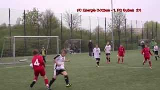 preview picture of video 'FC Energie Cottbus - 1. FC Guben 24:1 (E-Junioren-Punktspiel)'