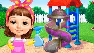 ГЕНЕРАЛЬНАЯ УБОРКА #3 Мультик Игра про Помощь Маме по дому Познавательное видео для Детей