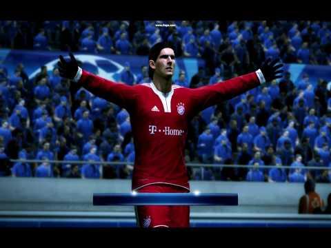 PES 2010 -- Buli Patch -- Chelsea - Bayern München --- Gomez Goal