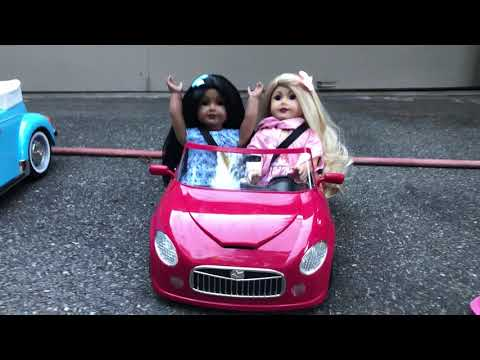 REVIEW: AMERICAN GIRL JULIE'S CAR VS. NEW REMOTE CONTROL CAR