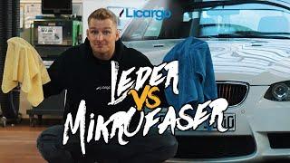 Ledertuch oder Mikrofasertuch? Was eignet sich besser zum Trocknen Deines Fahrzeugs?| LICARGO