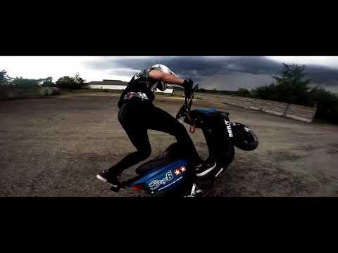 Scooter stuntriding yamaha BWS MBK Rocket