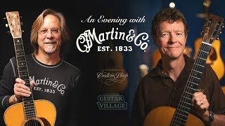 An Evening With Martin Guitars (part 1) - The History Of Martin Guitars