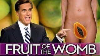 Mitt Romney A Big Fan Of Vagina/Papaya thumbnail