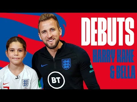 """""""It's a Feeling I'll Never Forget""""   Harry Kane meets fan from debut   Debuts   England"""