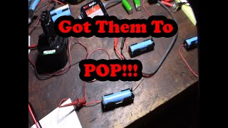 How to recover a dead 18650 Li-ion battery cell revive rejuvenate lithium ion  batteries DIY