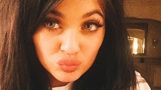 Kylie Reacts To Kylie Jenner Lip Challenge