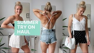 SUMMER HOLIDAY TRY ON HAUL | High Street Fashion