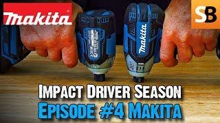 Makita DTD170 & DTS141 Impact Driver Review - Roundup #4