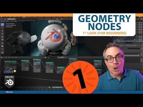 Geometry Nodes: A 1st Look (For Beginners) [1/2] | Blender 3D | Free Tutorial