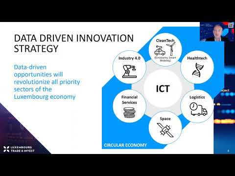 Data-driven innovation strategy and trusted data hub
