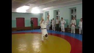 Акробатика на тренировках по айкидо