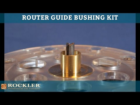Router Guide Bushing Kit