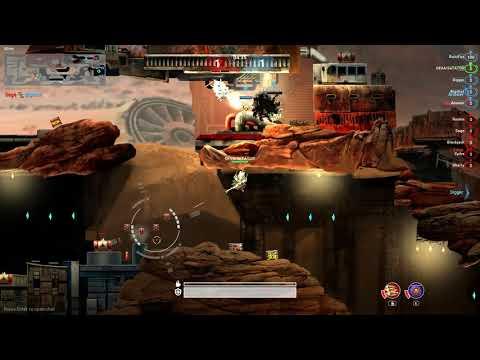 Deuterium Wars - Sand Arena, team deathmatch quickest match