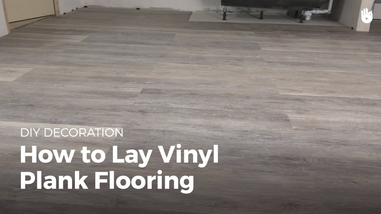 How To Lay Vinyl Flooring Household Diy Projects Sikana