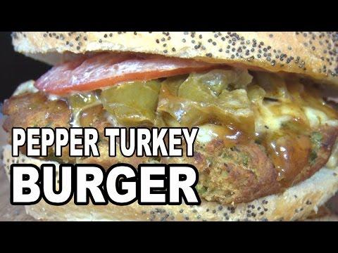 Pepper Turkey Burgers recipe by the BBQ Pit Boys