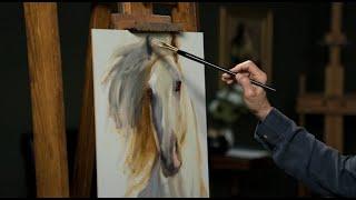 Johanne Mangi: The Fine Art Of Painting Horse Portraits