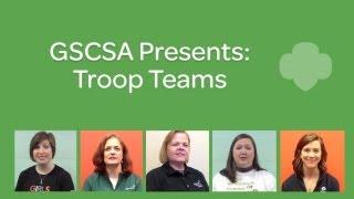 Girl Scout Troop Team Leadership