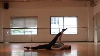 瀬稀先生のダンスレッスン〜足を高く上げるストレッチ〜のサムネイル画像