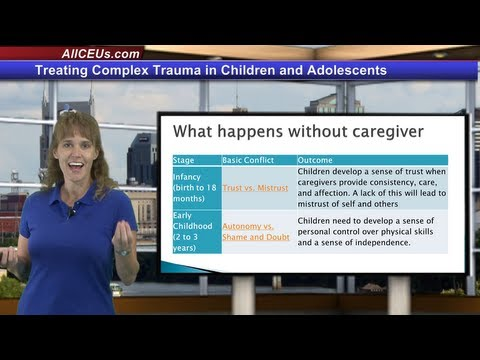 Treating Complex Trauma In Children for LPC, LMHC,and Addiction ...