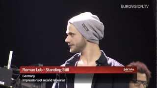 Roman Lob - Standing Still (Germany) Second rehearsal