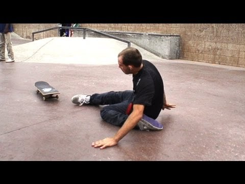 crazy guy almost breaks ankle dailyskatetube com