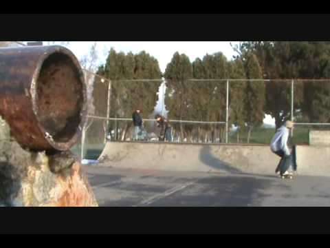 Longview Skatepark January '09