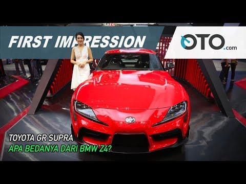 Toyota GR Supra | First Impression | Apa Bedanya Dari BMW Z4? | GIIAS 2019 | OTO com
