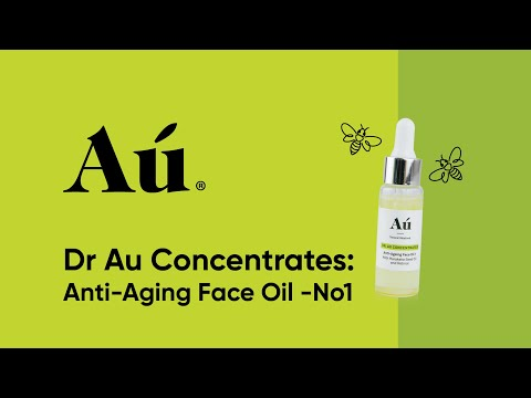 Dr Au Concentrates – Anti-Aging Face Oil – No. 1