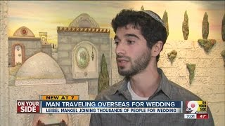 Cincinnati-area man joins thousands traveling to Israel for wedding