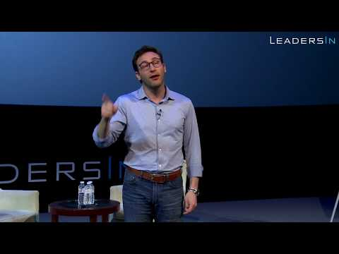 Still Image from the video: Simon Sinek