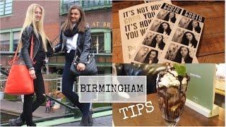 What to do in Birmingham | VLOG | tipy na místa kam zajít