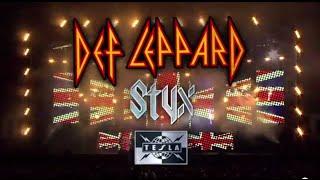 DEF LEPPARD - 2015 U.S. Tour w/ STYX & TESLA (ON SALE NOW)