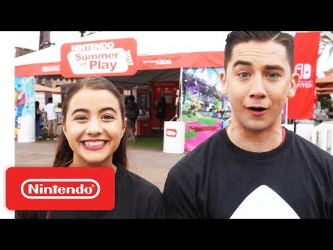 Nintendo's 2017 Summer of Play Tour