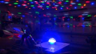 1ByOne DISCO BALL Bluetooth Dome Light & Speaker REVIEW