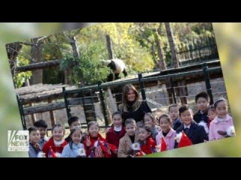 Melania Trump visits Beijing Zoo, snaps photos with adorable pandas
