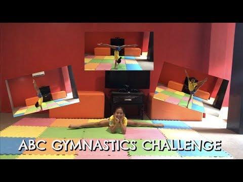 ABC Gymnastics Challenge by YURI | kumazawasisters ...