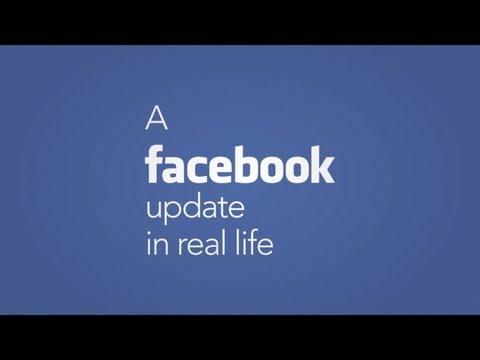 Aktualizace Facebooku ve skutečném životě