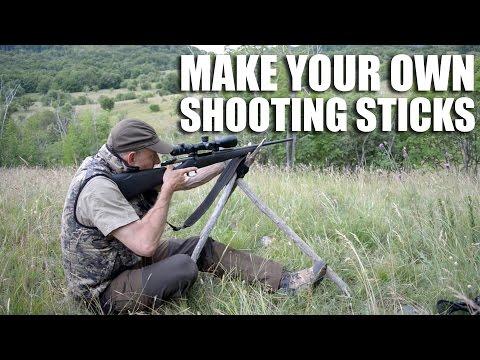 Make Your Own Shooting Sticks