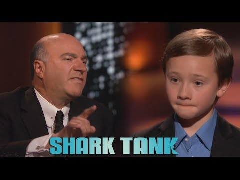 Kid gets DESTROYED on Shark Tank